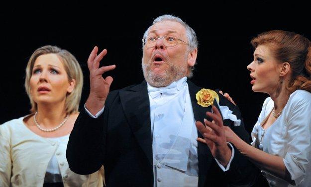 Peter Mikuláš v Mozartovej opere Cosi fan tutte.