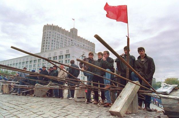 Moskva, koniec októbra 1993.