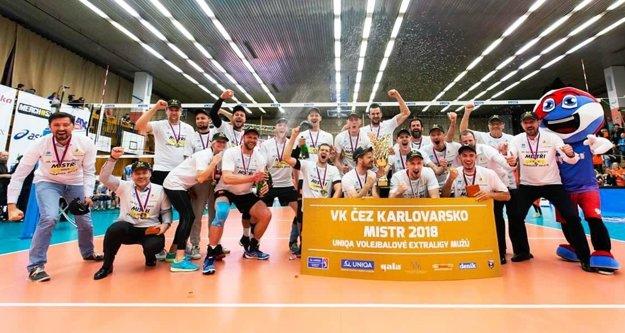 Karlovy Vary sa tešili z prvého zlata v histórii klubu.