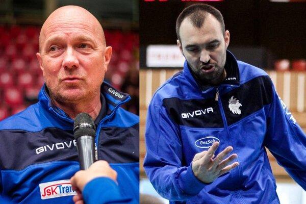 Zľava Jaroslav Vlk a Roman Kašša.