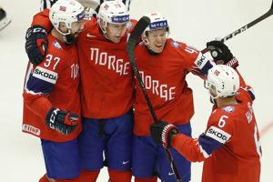 Nórski hokejisti zdolali Nemecko, rozhodli nájazdy.