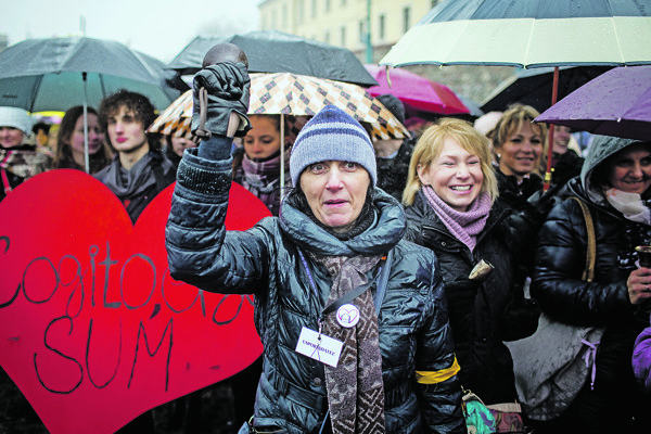 Štrajk učiteľov.