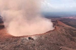 Havajská sopka Kilauea.