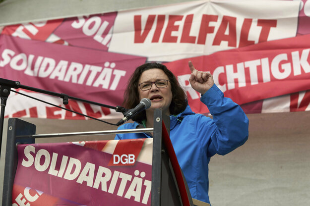 Šéfka sociálnych demokratov Andrea Nahles.