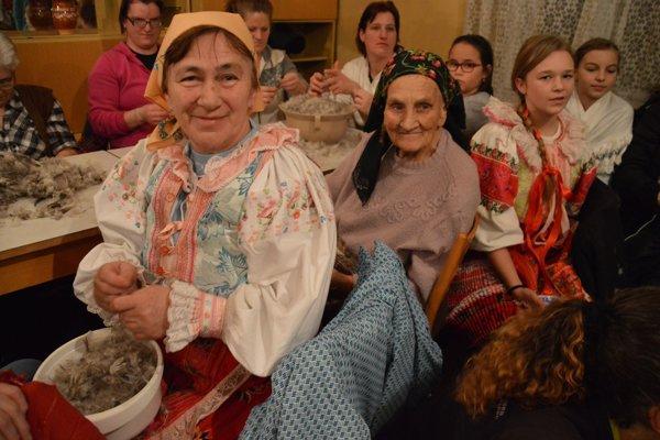 Na páračkách v Bujakove sa zišli tri generácie.
