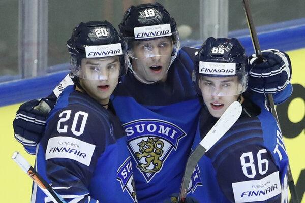 Fínski hokejisti ovládli štatistiky produktivity.