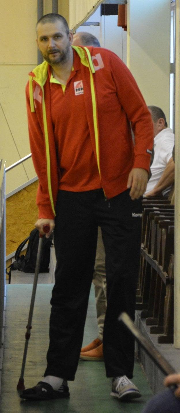Michal Meluš pre zranenie do hry zasiahnuť nemohol.