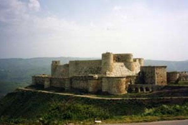 Križiakov v Palestíne pripomínajú ich hrady ako pevnosť johanitov Krak des Chevaliers.