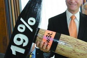 Dnešný šéf liberálov Guido Westerwelle vystupuje proti zvýšeniu DPH na 19 percent.