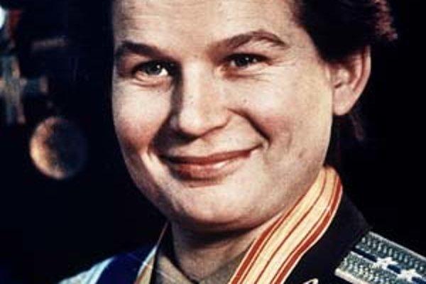 Valentina Tereškovová.