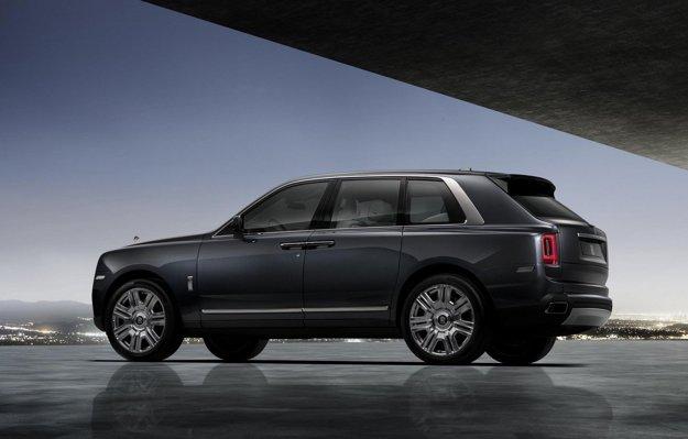 Konkurentmi Cullinanu bude najmä Bentley Bentayga a Range Rover.