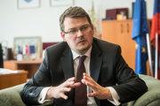 Štátny tajomník ministerstva obrany Róbert Ondrejcsák.