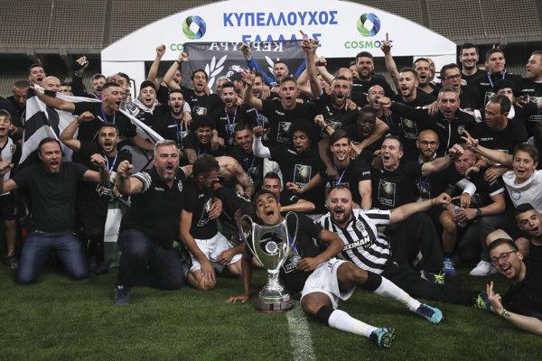 Futbalisti PAOK Solún vyhrali Gréck pohára.