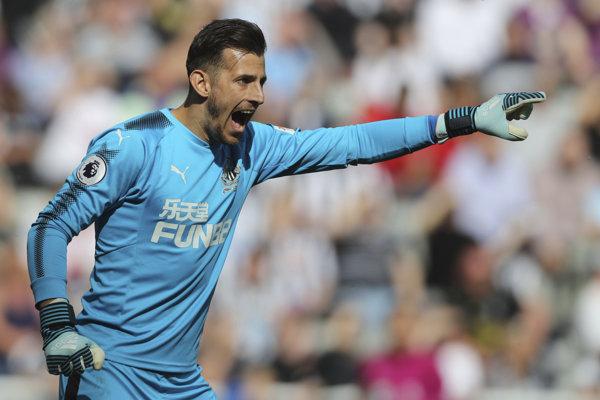 Martin Dúbravka vychytal slávnu Chelsea.