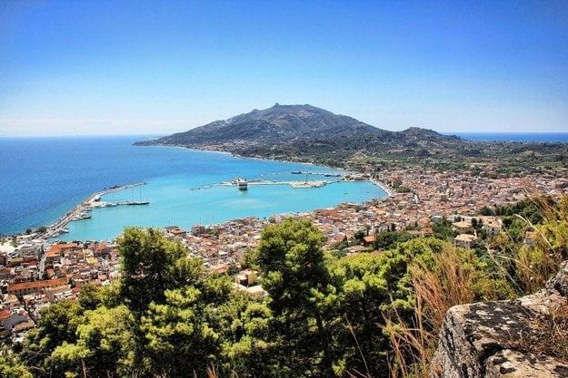 Hlavné mesto Zakynthos.