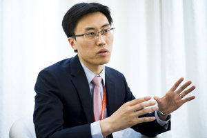 Odborník na jadrovú politiku TCHUNG ČAO navštívil Bratislavu v rámci konferencie Globsec.