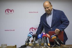 Generálny riaditeľ RTVS Jaroslav Rezník.