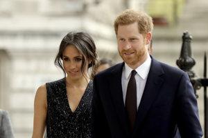 Meghan Markleová s princom Harrym