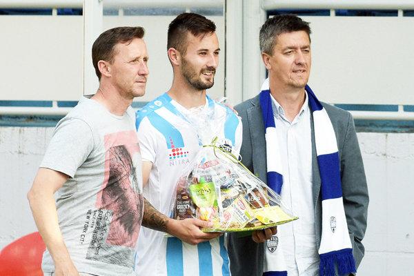 Mužom zápasu bol Tomáš Vestenický. Aj jeho šesť jarných gólov pomohlo Nitre ku konečnému siedmemu miestu.