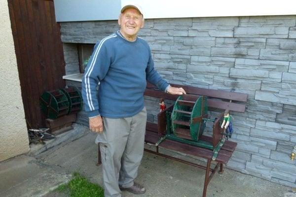 Vodné mlyny zostrojil zručný Jozef Čižmárik.