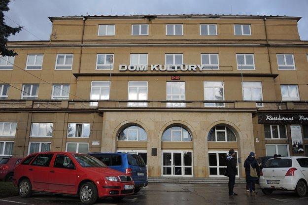 Dom kultúry v Dubnici nad Váhom.