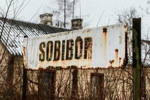 Koncentračný tábor Sobibor v Poľsku.