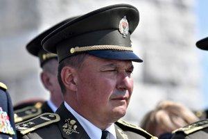 Náčelník generálneho štábu Daniel Zmeko.
