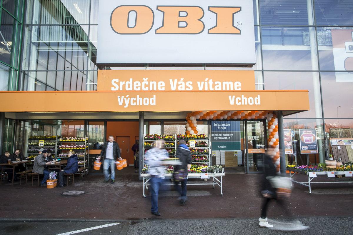OBI otvoril predajne. Pozrite sa 478f8632d9b