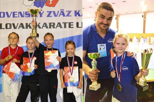 Na šampionáte sa predstavili karatisti z troch nitrianskych klubov.