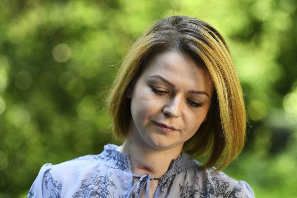 Dcéra bývalého ruského špióna Sergeja Skripaľa Julija.