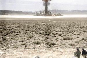 Test pod označením Grable-Upshot-Knothole vykonali Spojené štáty 25. mája 1953 v Nevade.