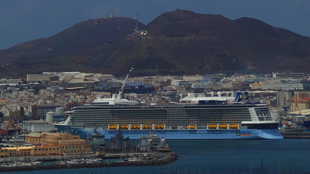 Anthem of the Seas v Las Palmas de Gran Canaria.