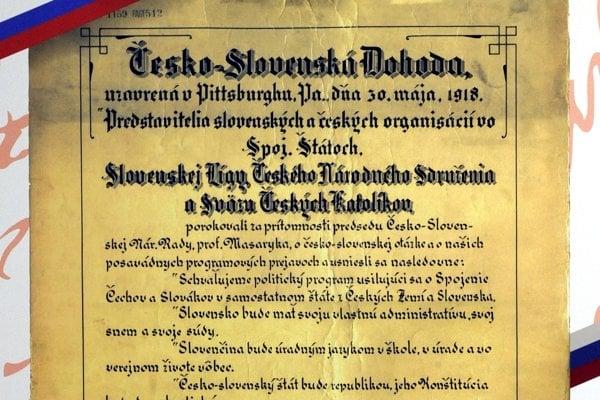 Pittsburská dohoda.