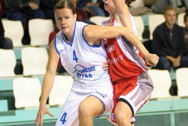 Zuzana Babariková obliekala dres Nitry ešte za éry klubu BK Inpek UKF.