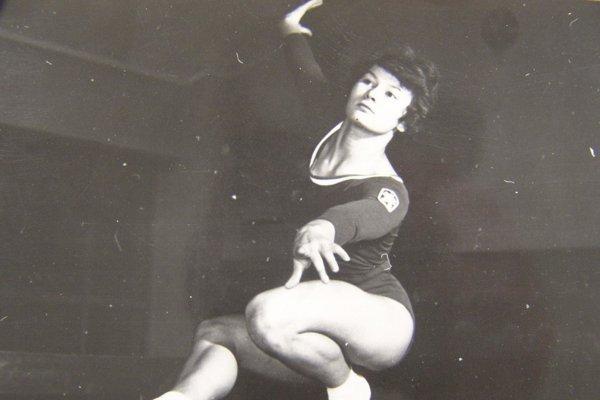 Marianna Krajčírová Némethová na vrchole aktívnej športovej kariéry.