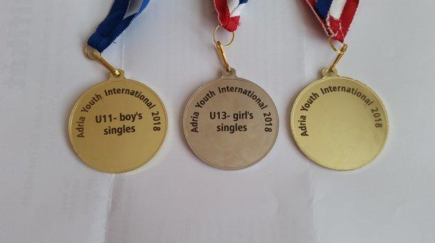 Andrej si doplnil svoju sedemkilovú zbierku medailí o ďalšie tri.