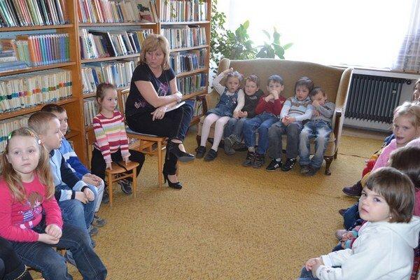 Knižnice organizujú aj akcie pre deti.
