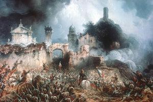 Obraz Bitka pri Solferine od Carla Bossoliho
