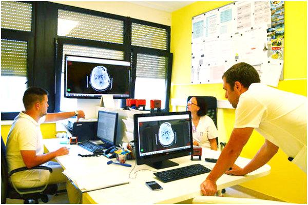 Na oddelení neurológie v Liptovskom Mikuláši.