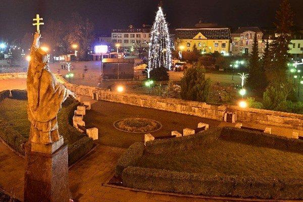 Vianočná atmosféra v Žiline.