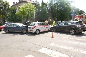Pondelková nehoda v Košiciach.