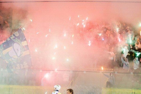 Na tribúnach žilinského štadióna bolo v poslednú októbrovú nedeľu poriadne veselo.