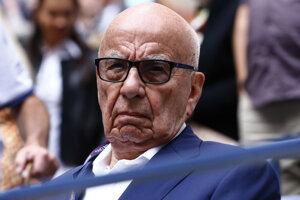 Mediálny magnát Rupert Murdoch.