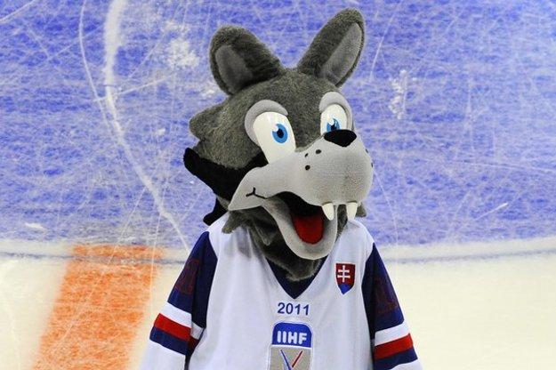 Na šampionáte v roku 2011 zabával fanúšikov v hokejovom drese šedo-biely vlk Goooly.