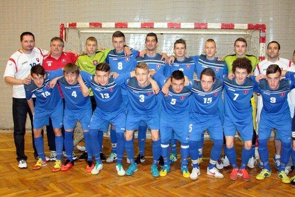 Slovenská futsalová reprezentácia do 19 rokov.