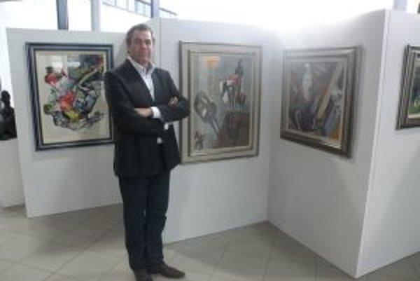 Pavol Borčin dáva príležitosť umeniu.