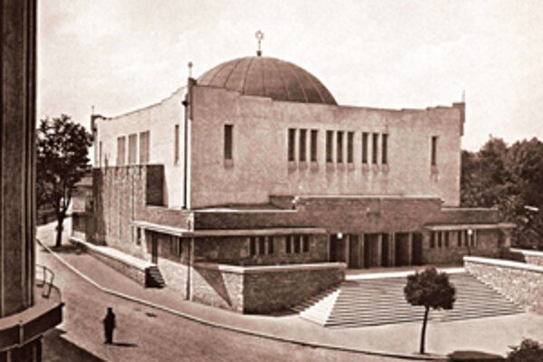 Neologická synagóga v Žiline
