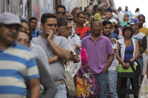 Inflácia vo Venezuele sa stále pohybuje v rekordných číslach.