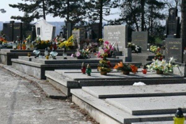 Starý cintorín v Žiline.