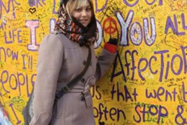 Talentovaná speváčka Michaela Husárová. V súťaži zabodovala s piesňou od Amy Winehouse.